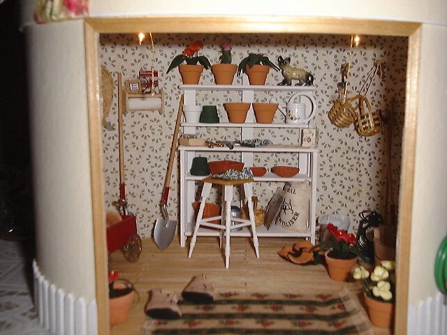 Dollhouse Miniature The Potting Shed Picture 1